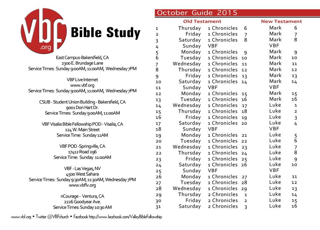 Vbf study guide