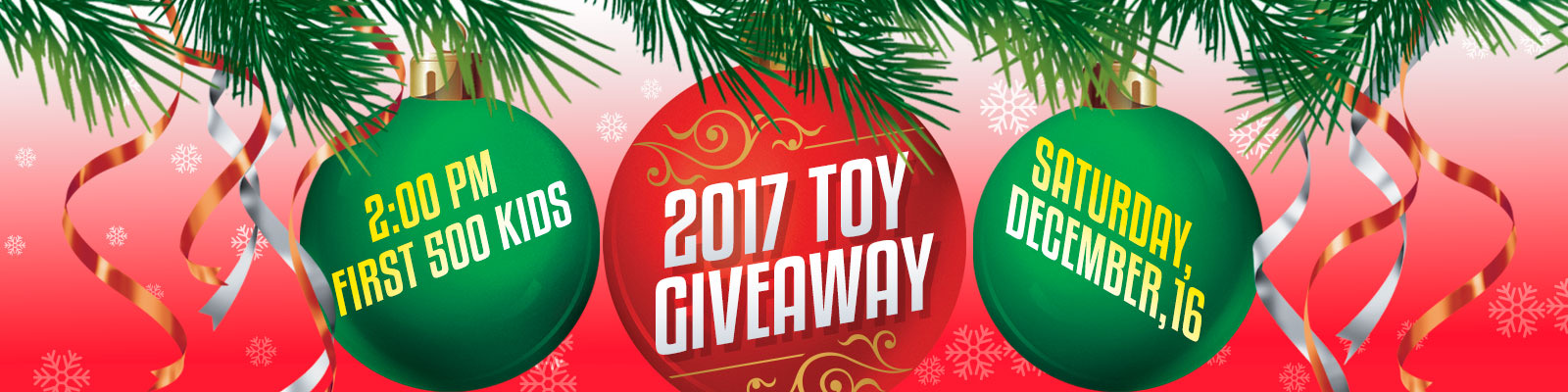 Must ministries christmas toys giveaway
